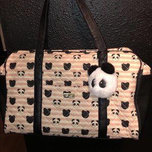 Betsey Johnson weekender bag purse